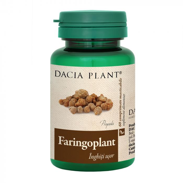 Faringoplant , 60 comprimate masticabile, Dacia Plant [0]