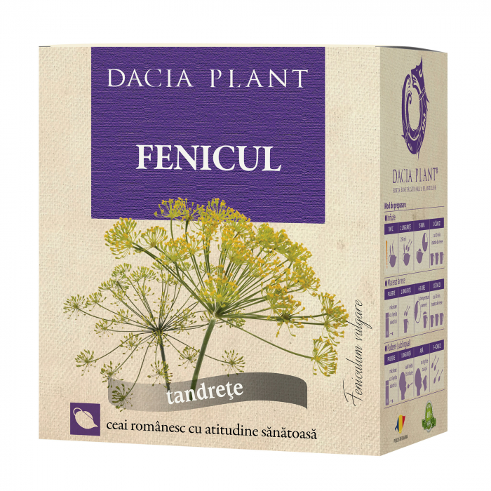 Ceai de Fenicul 50g, Dacia Plant [0]