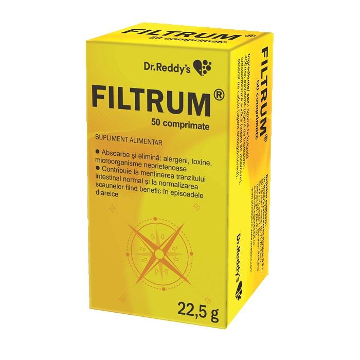 Filtrum, 50 comprimate, Avva Rus [0]
