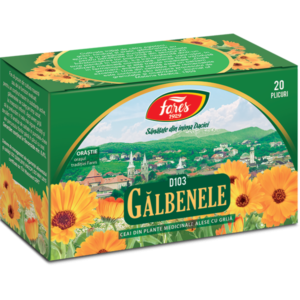 Ceai Galbenele, 20 plicuri, Fares [0]