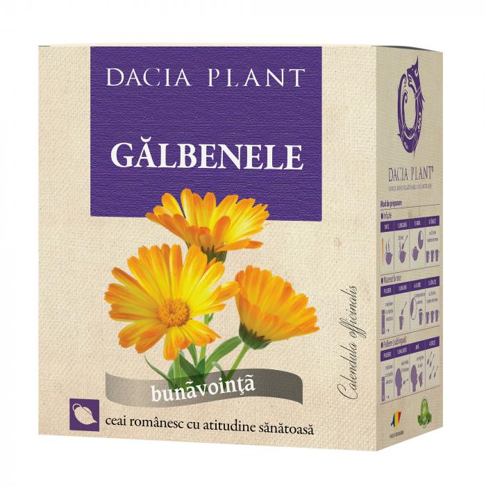 Ceai de Galbenele 50g, Dacia Plant [0]