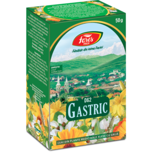 Ceai Gastric, D62, ceai la punga x 50 g, Fares [0]