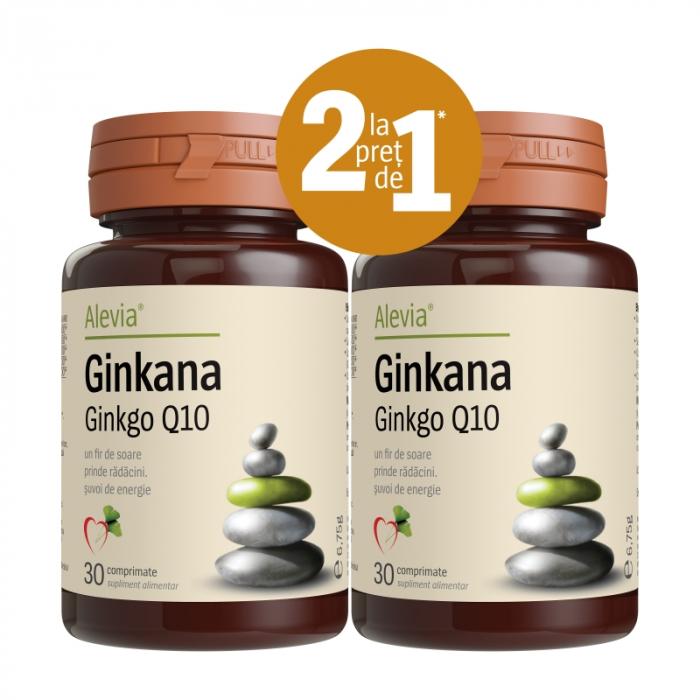 Ginkana Ginkgo Q10 pachet 1+1 [0]