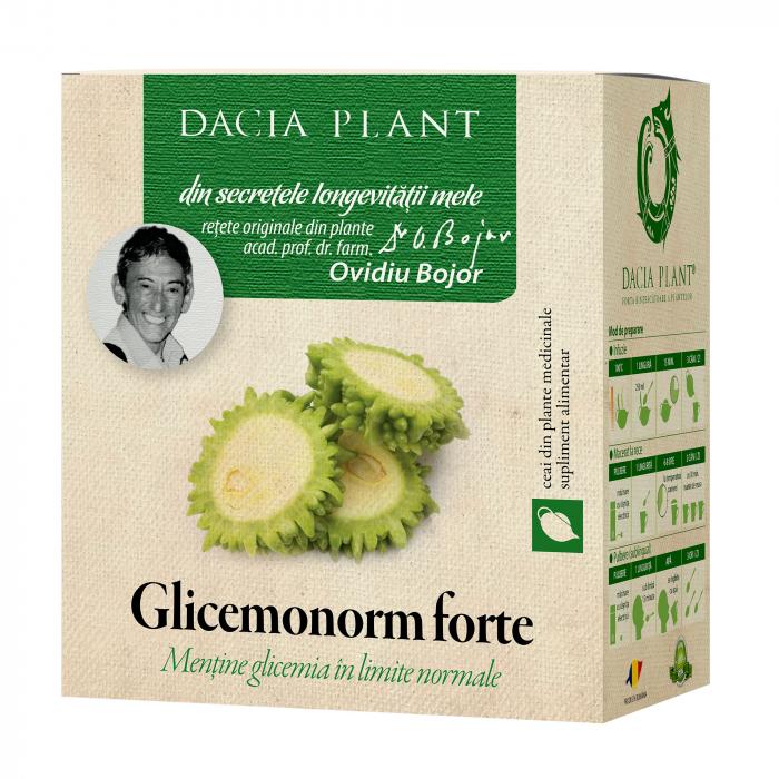 Glicemonorm Forte ceai 50g, Dacia Plant [0]