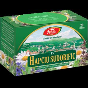 Hapciu Sudorific, R5, ceai la plic x 20 doze [0]