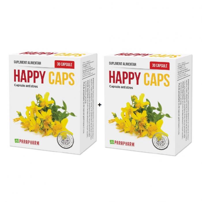 Happy CAPS, 30 + 30 capsule [0]