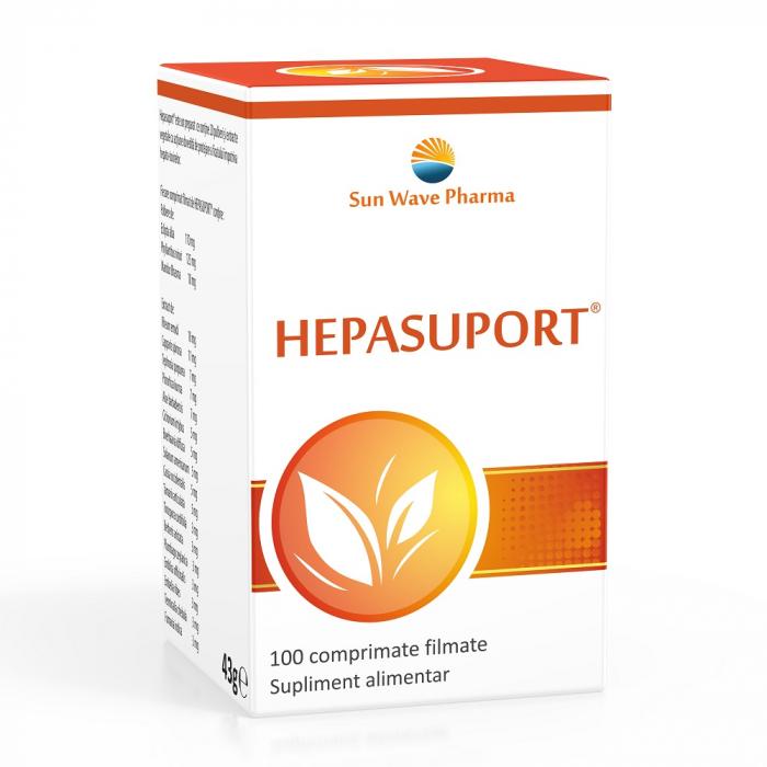 Hepasuport x100 comprimate Sun Wave Pharma [0]