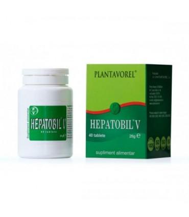 Hepatobil V, 40 tablete [0]