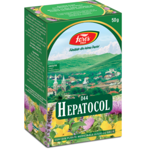Ceai Hepatocol, D44, punga 50g, Fares [0]
