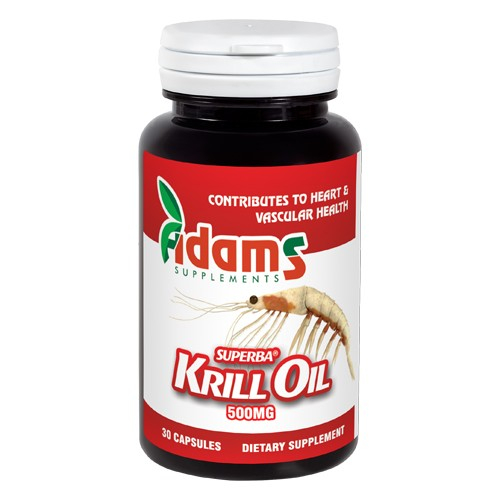 Krill Oil 500mg,  30cps , Adams Supplements [0]