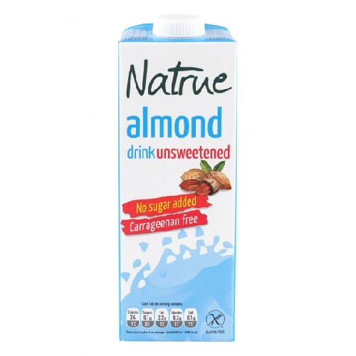 Lapte vegetal din Migdale, neindulcit, 1L, Natrue [0]