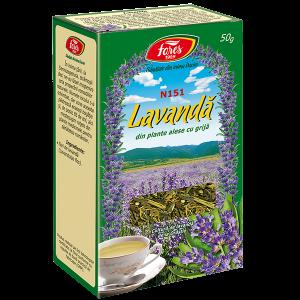 Lavanda, flori, N151, ceai la punga x 50 g [0]
