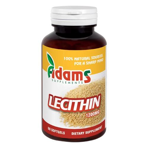 Lecithin 1200mg, 60 capsule [0]