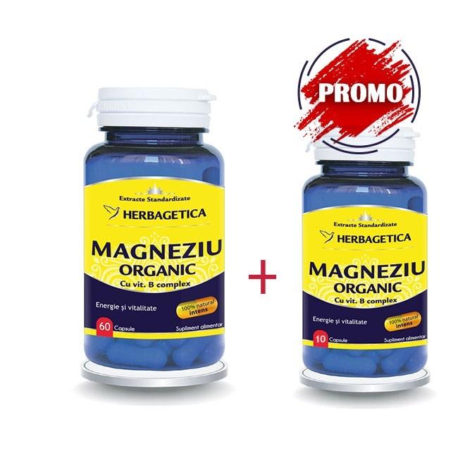 MAGNEZIU ORGANIC 60 capsule + 10 capsule cadou [0]