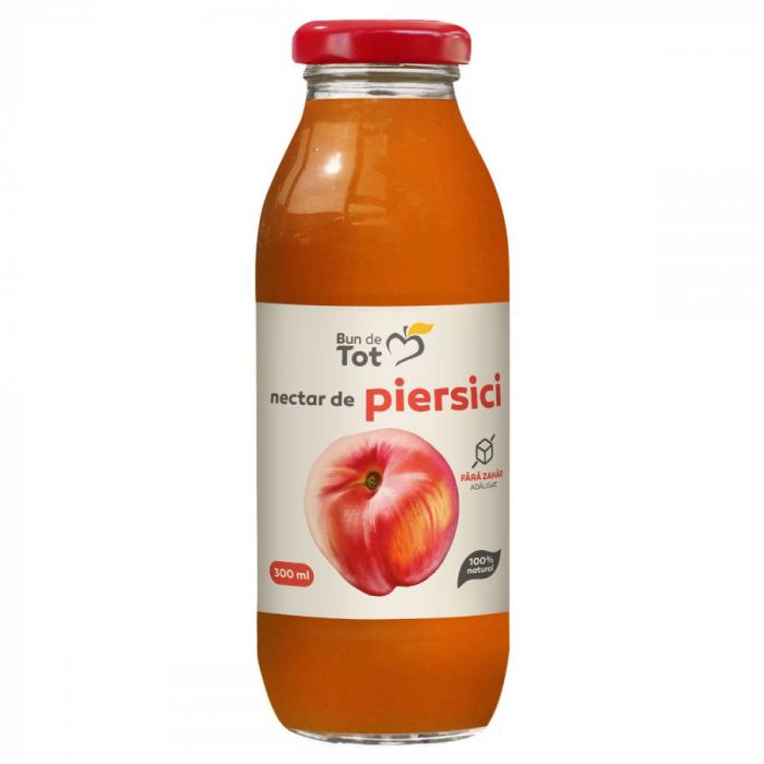 Nectar de piersici-fara zahar- 300 ml, Dacia plant [0]