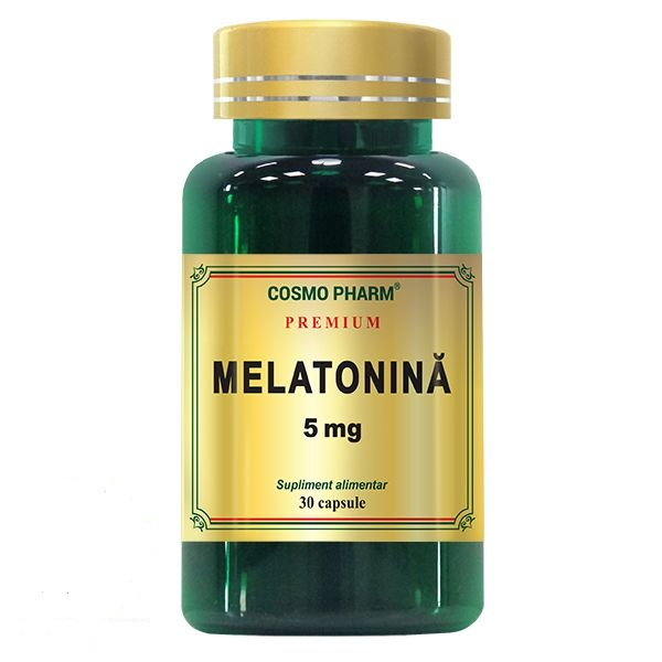 Melatonina 5 mg, 30 capsule, Cosmopharm [0]