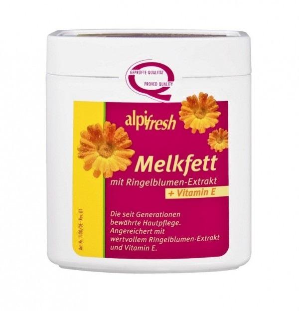 Melkfett, crema grasa emolienta cu galbenele si Vitamina E, Alpifresh, 250 ml, Lenhart Kosmetik [0]