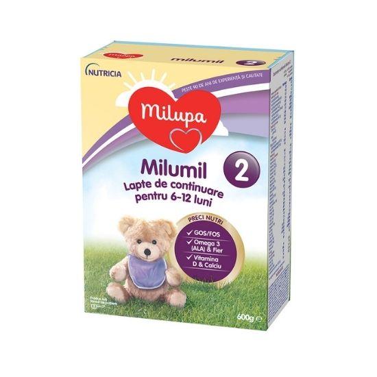 Milumil PreciNutri formula de lapte de continuare, +6 luni, 600 gr, Milupa [0]