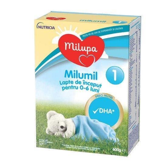 Milumil PreciNutri formula lapte de inceput, 0-6 luni, 600 g, Milupa [0]
