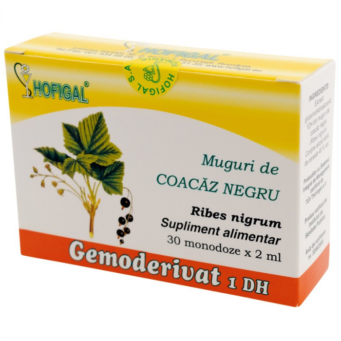 Gemoderivat Muguri de coacaz negru x 30 doze [0]