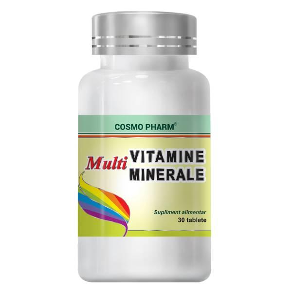 Multivitamine Multiminerale x 30 comprimate, Cosmopharm [0]
