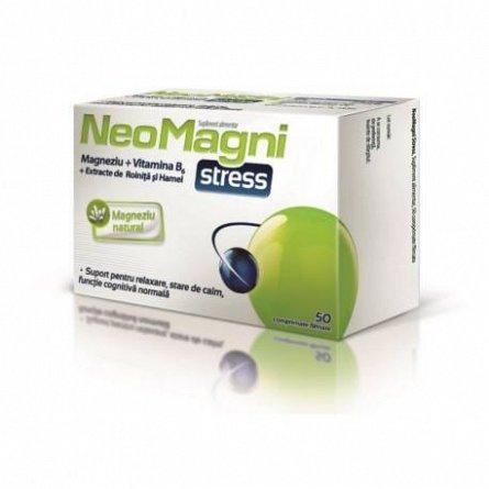NEOMAGNI STRESS, 50 COMPRIMATE [0]