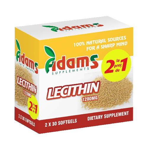 Lecithin 1200mg 30capsule, 1+1 GRATUIT [0]