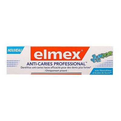 Pastă de dinți anticarie Professional Junior 6-12 ani, 75 ml, Elmex [0]