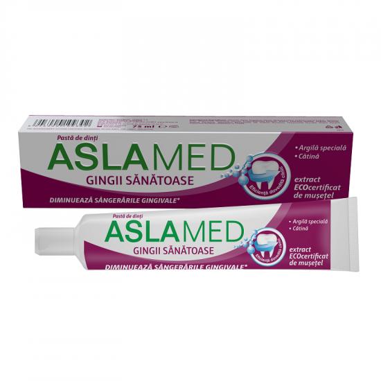 Pasta de dinti pentru gingii sanatoase AslaMed, 75 ml, Farmec [0]