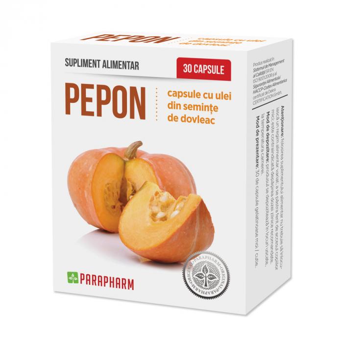 Pepon, capsule cu ulei din seminte de dovleac, 30 capsule [0]