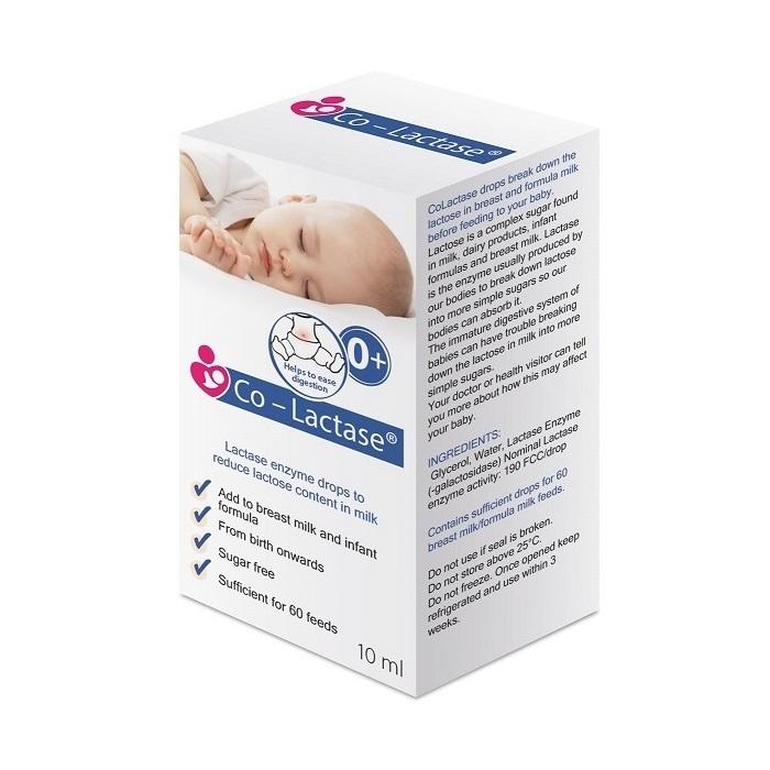Co-Lactase picături pentru sugari, 10 ml, Maxima HealthCare Ltd [0]