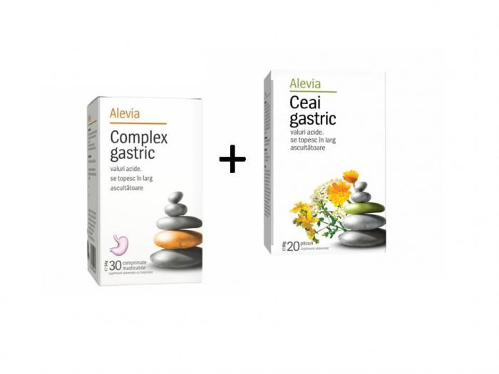 Complex gastric x 30comprimate + Ceai gastric x 20 doze [0]