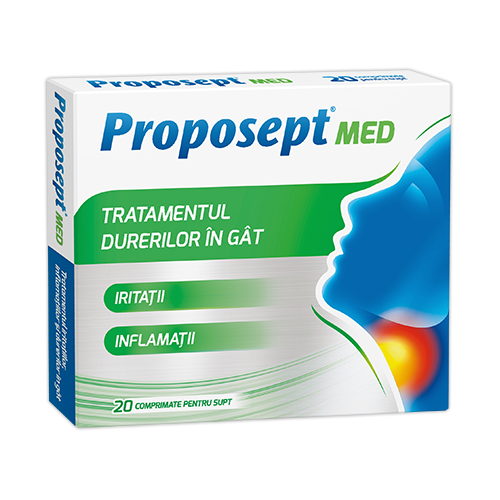Proposept Med, 20 cpr. de supt [0]