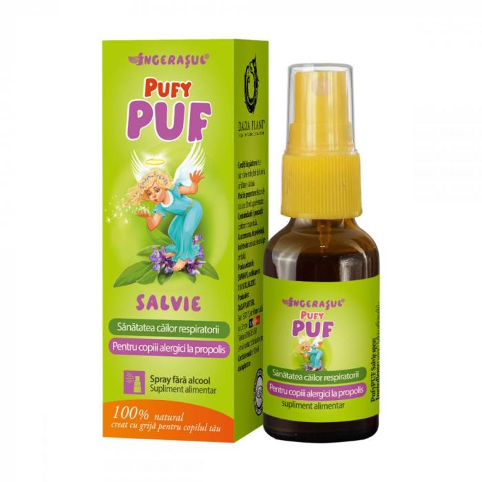 PufyPUF Salvie spray x 20 ml , Dacia Plant [0]