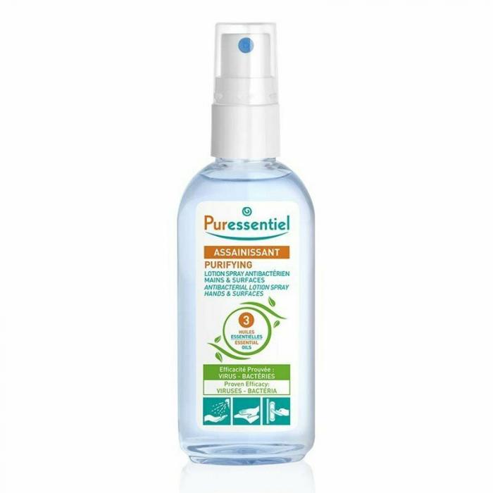 Purifying Spray antibacterian pentru maini, 80 ml [0]