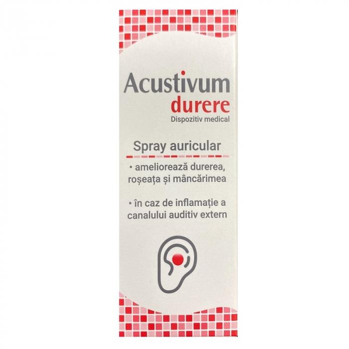 Spray auricular Acustivum durere, 20 ml [0]