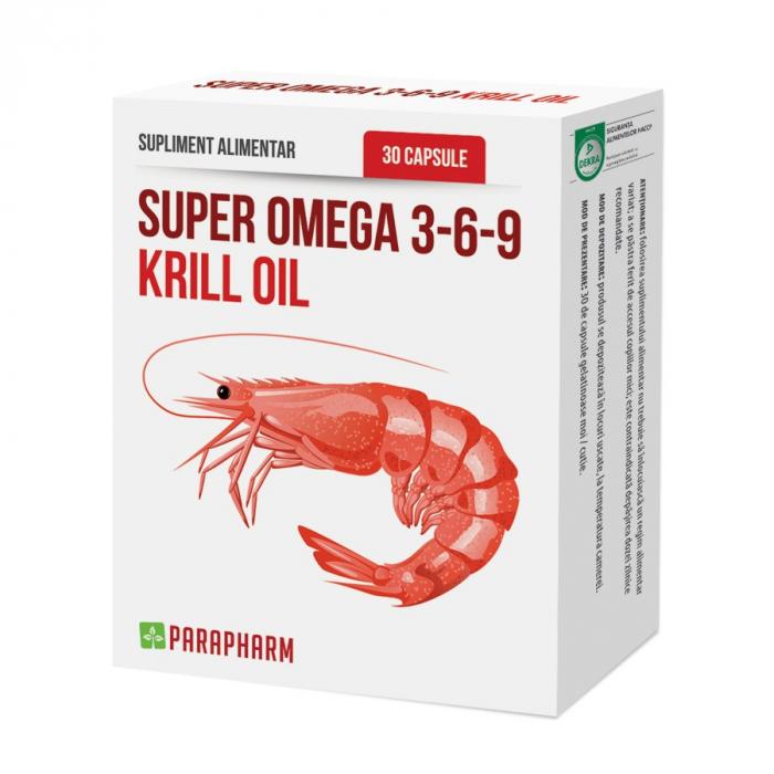 Super Omega 3-6-9 KRILL OIL, 30 capsule [0]
