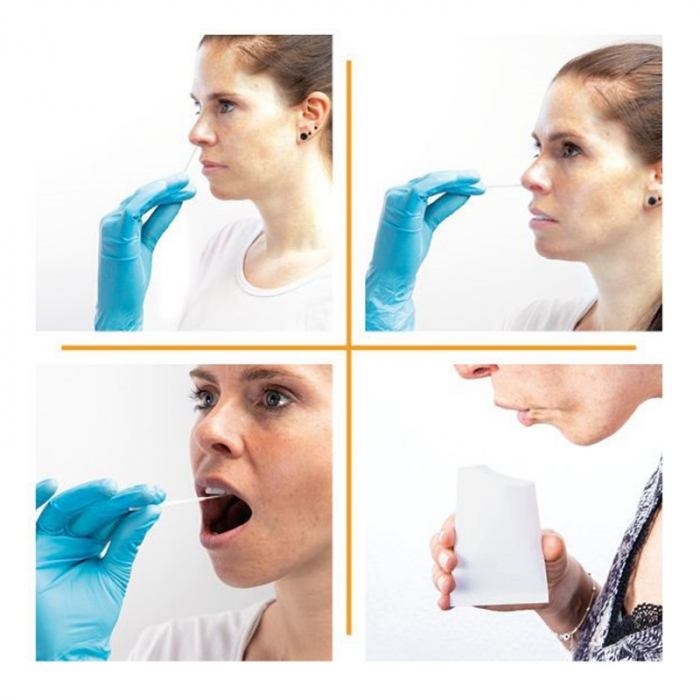Test Antigen 4 In 1 (Saliva+Nazal) COVID-19 Easy Diagnosis Set 20 Buc [2]