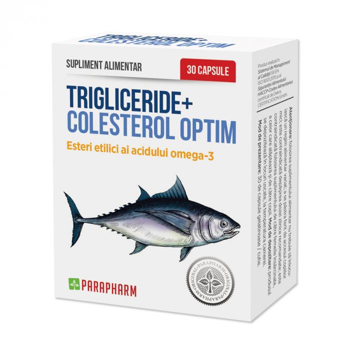 Trigliceride + Colesterol OPTIM, 30 capsule [0]