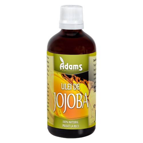 Ulei de Jojoba 100ml Adams [0]