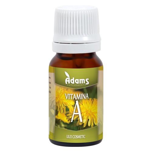 Ulei Vitamina A 10ml Adams [0]