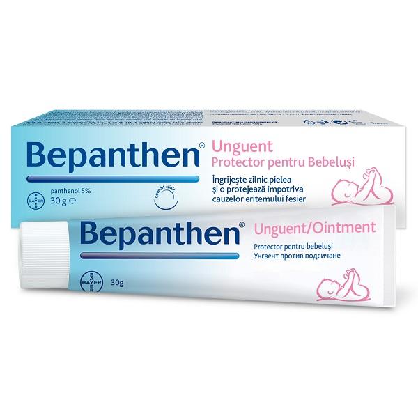 Bepanthen Unguent pentru iritațiile de scutec, 30 g, Bayer [0]