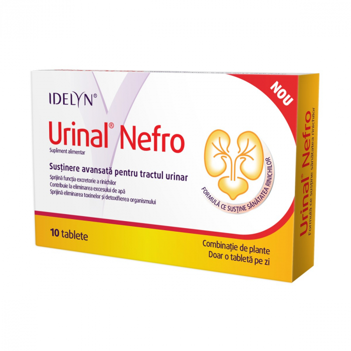 IDELYN Urinal Nefro, 10 tablete [0]