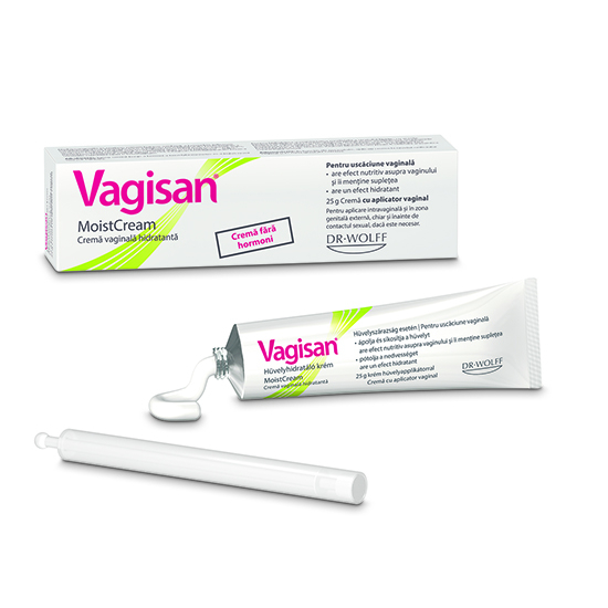 Vagisan MoistCream Cremă vaginală hidratantă, 25 g [0]