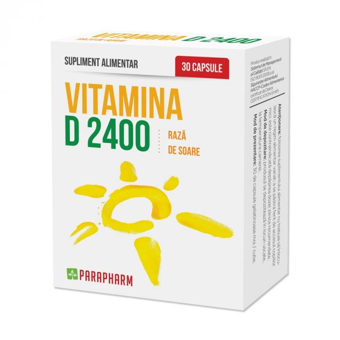 Vitamina D 2400, 30 capsule [0]