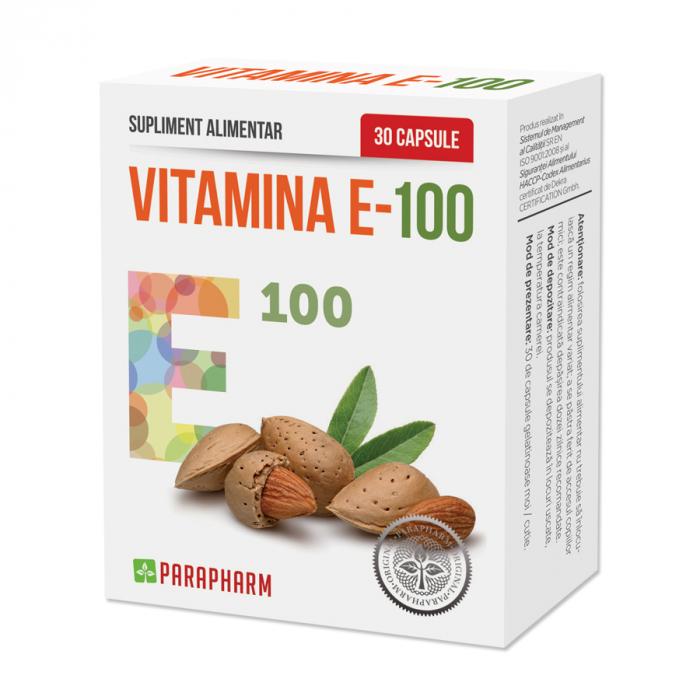 Vitamina E-100, 30 capsule [0]