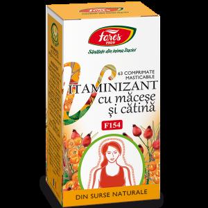 Vitaminizant cu macese si catina, 63 comprimate masticabile, Fares [0]