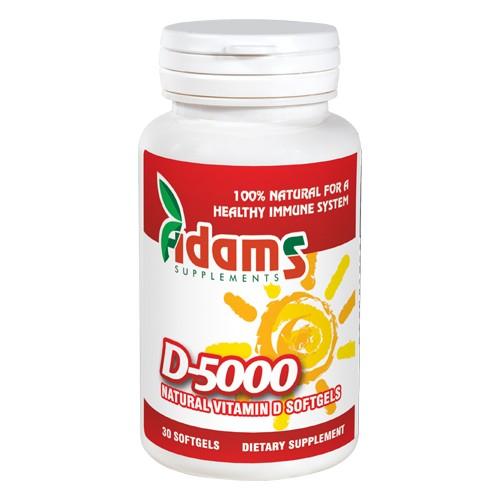 Vitamina D-5000, 30 capsule moi [0]