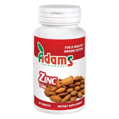 Zinc 15mg x 30 tablete Adams Supplements [0]