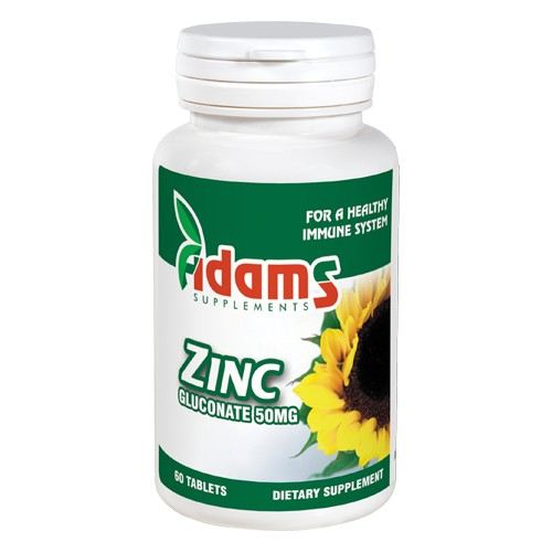 Zinc 50mg, 60 tablete [0]